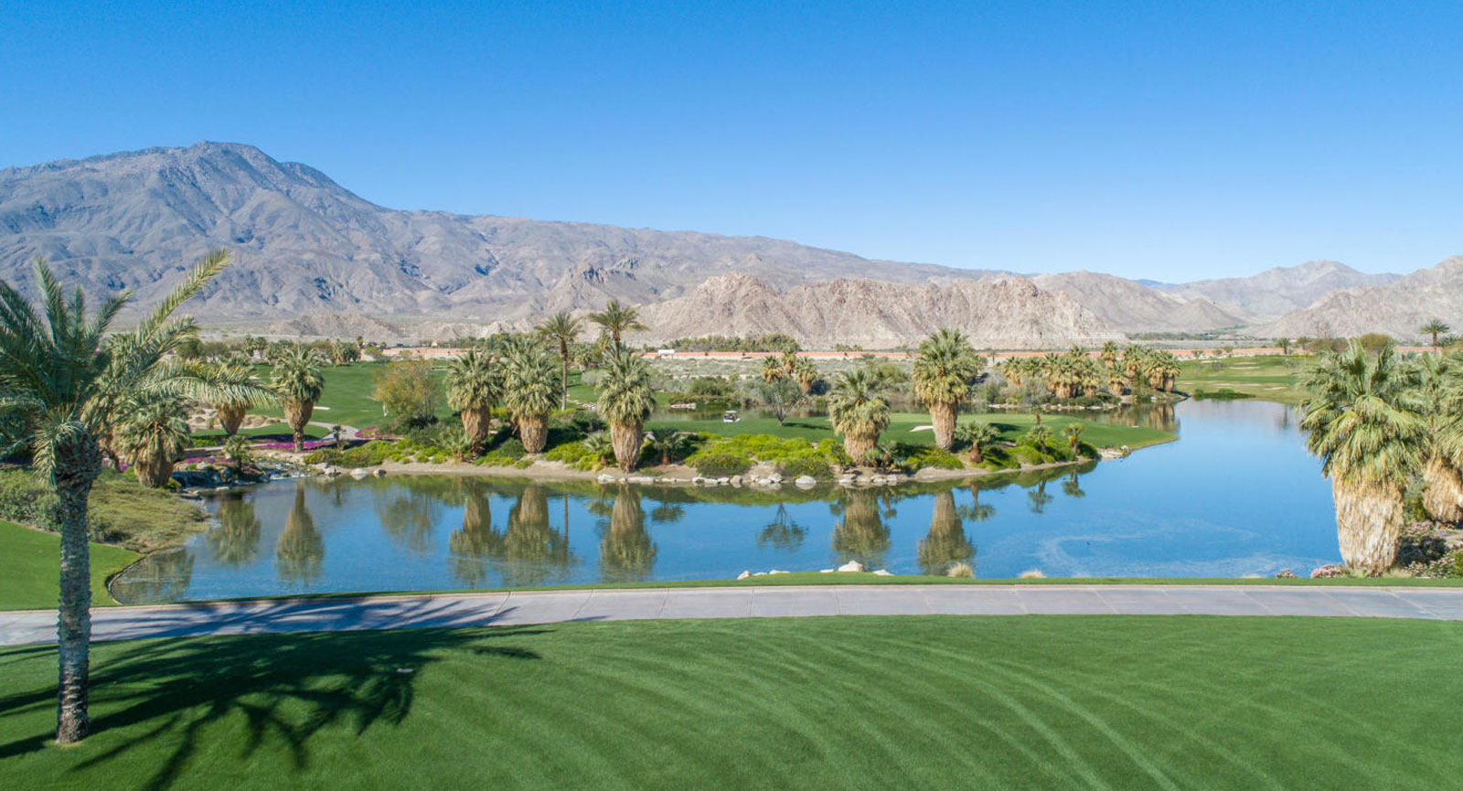 La Quinta CA Golf Course in Palm Springs